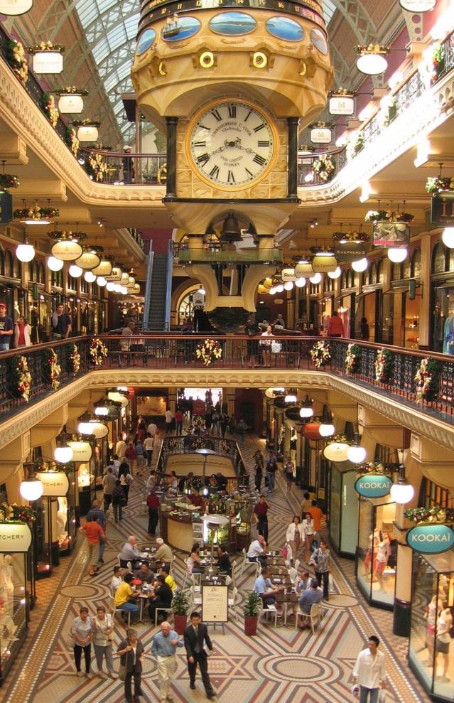 Winkelcentrum detailhandel