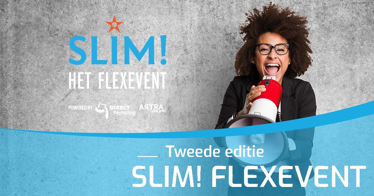DIRECT Payrolling En ARTRA Organiseren Samen De Tweede Editie Van Flexevent SLIM!